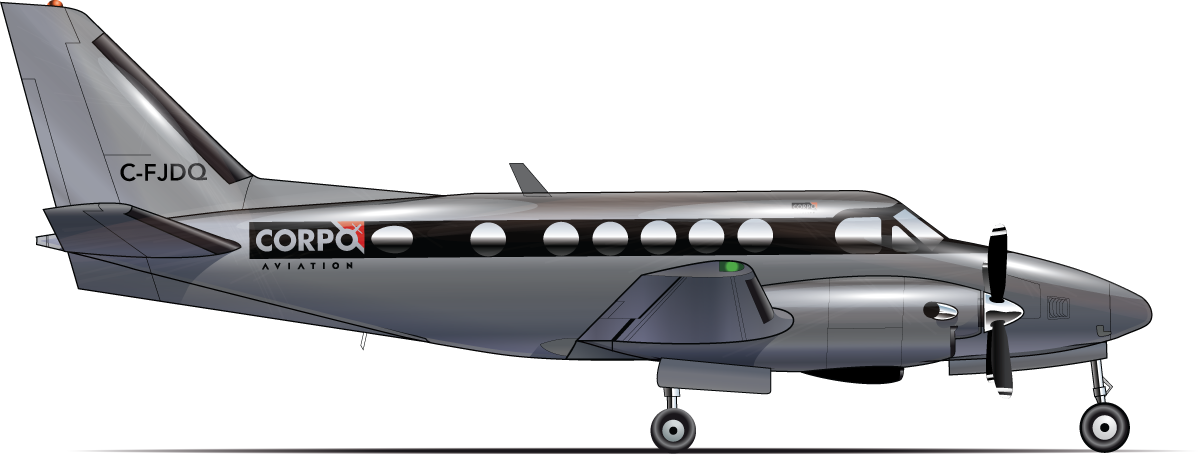 KING AIR B100 - Image